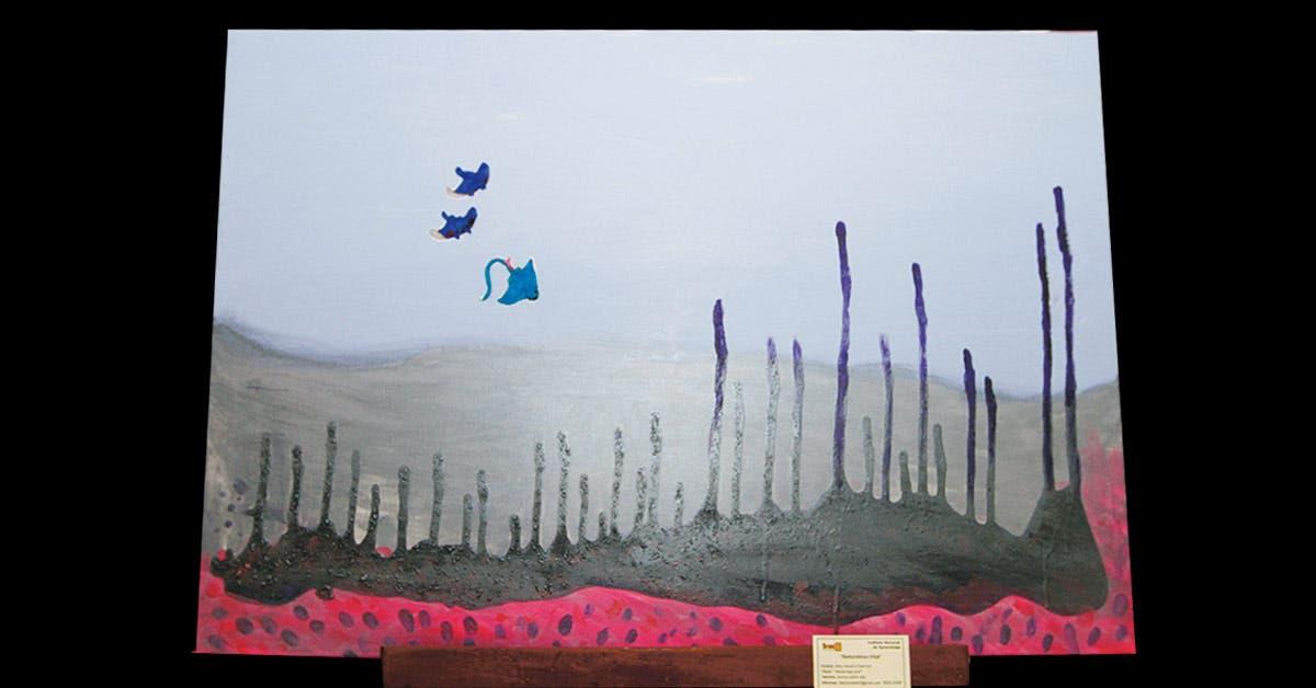 Cuadro pintado por Abby Navarro