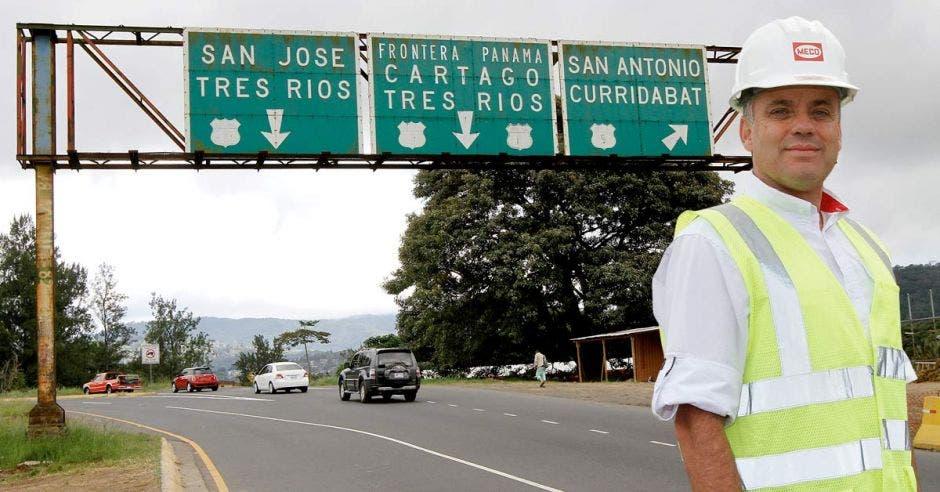 """""""La Florencio del Castillo es una de las más importantes rutas interprovinciales y, durante décadas, ha sido evidente la necesidad de mejorarla para reducir el tiempo de viaje"""", dijo José Alfredo Sánchez, vicepresidente de Constructora Meco. Elaboración propia/La República."""