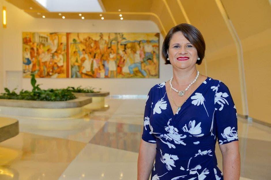 Sary Valverde, presidenta de la Cámara Nacional de Turismo. Archivo/La República.