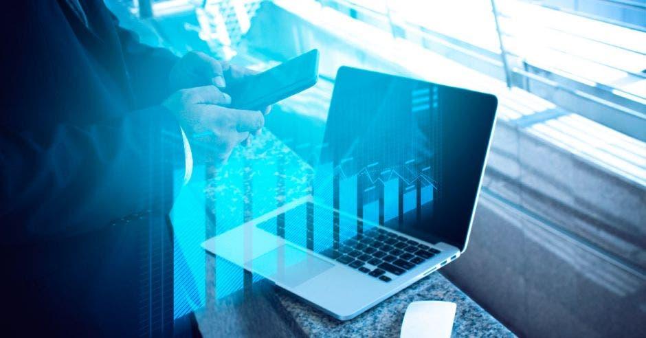 Foto de una laptop