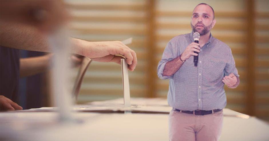 José Miguel Jiménez, candidato a alcalde por Río Cuarto por el PLN