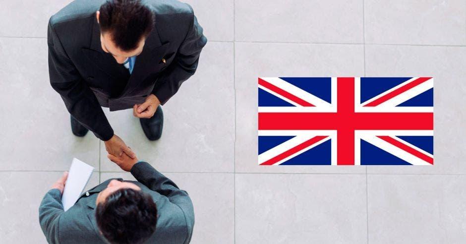 Apretón de manos, Reino Unido