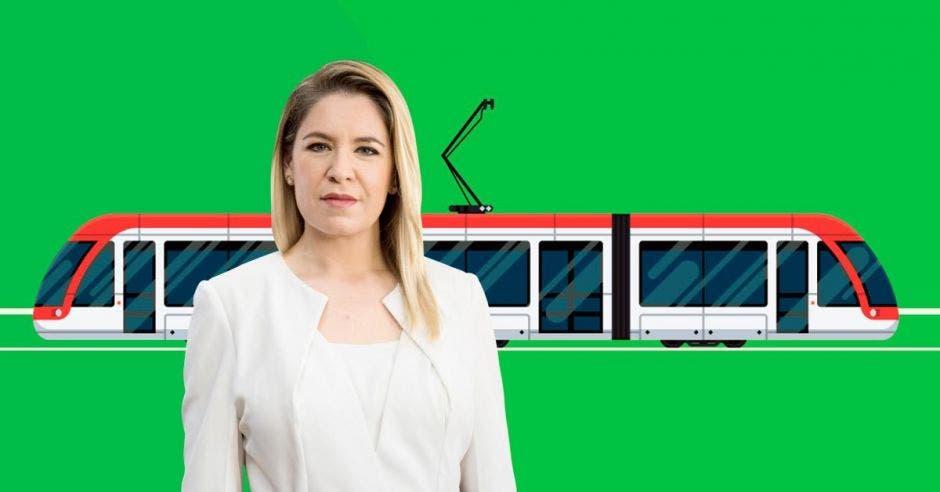 Claudia Dobles, la primera dama, lidera el proyecto. Archivo/La República