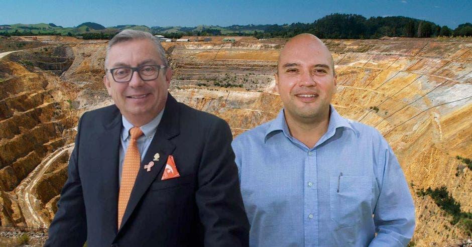 Diputado Jorge Fonseca y Eduardo Araya