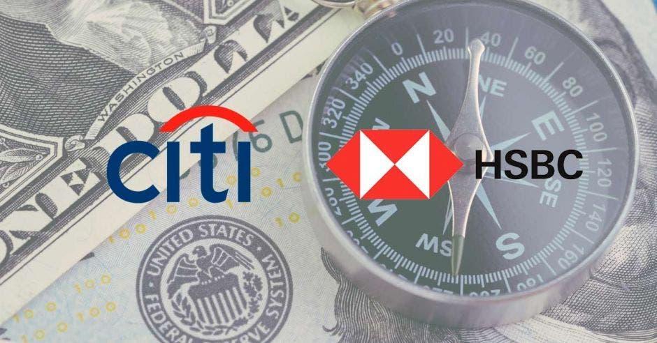 Logo de Citi y HSBC
