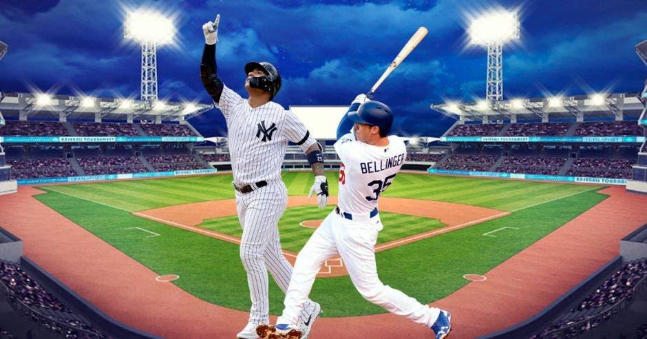 hombres de beisbol