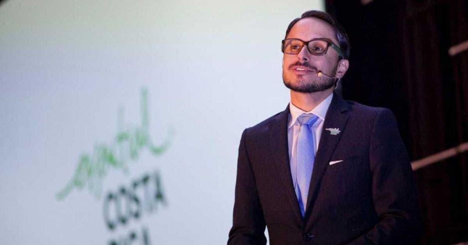 Daniel Valverde, director de la marca país