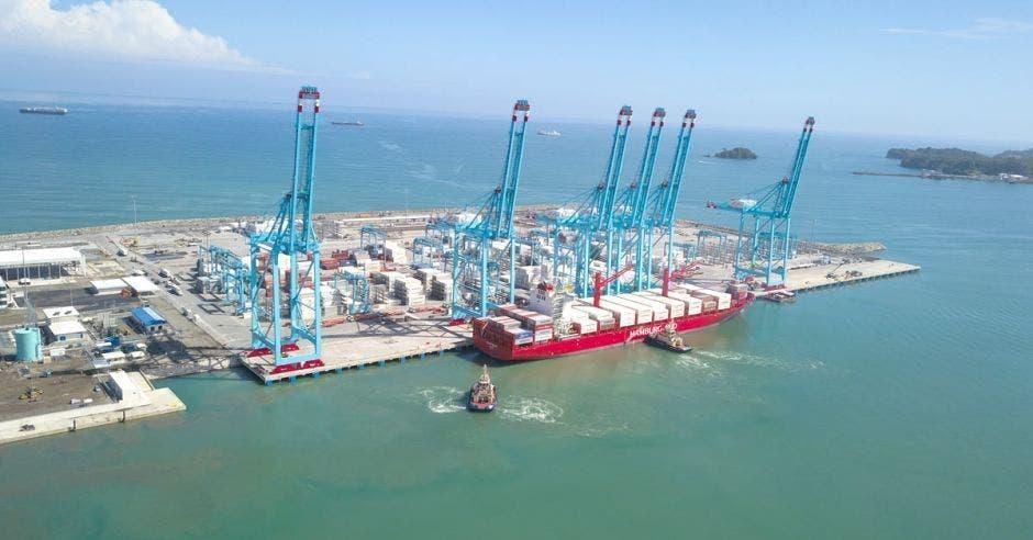 El primer barco de esta nueva ruta comercial a China zarpó este domingo 22 de setiembre. Archivo/La República