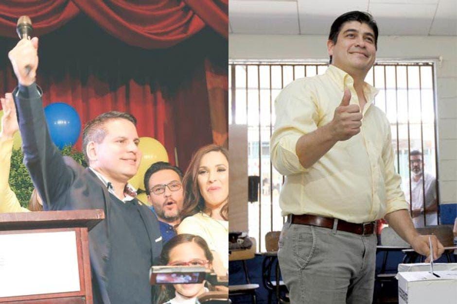 La última vez que el país fue a una segunda ronda fue abril del 2018, para decidir entre Fabricio Alvarado y Carlos Alvarado. Archivo/La República