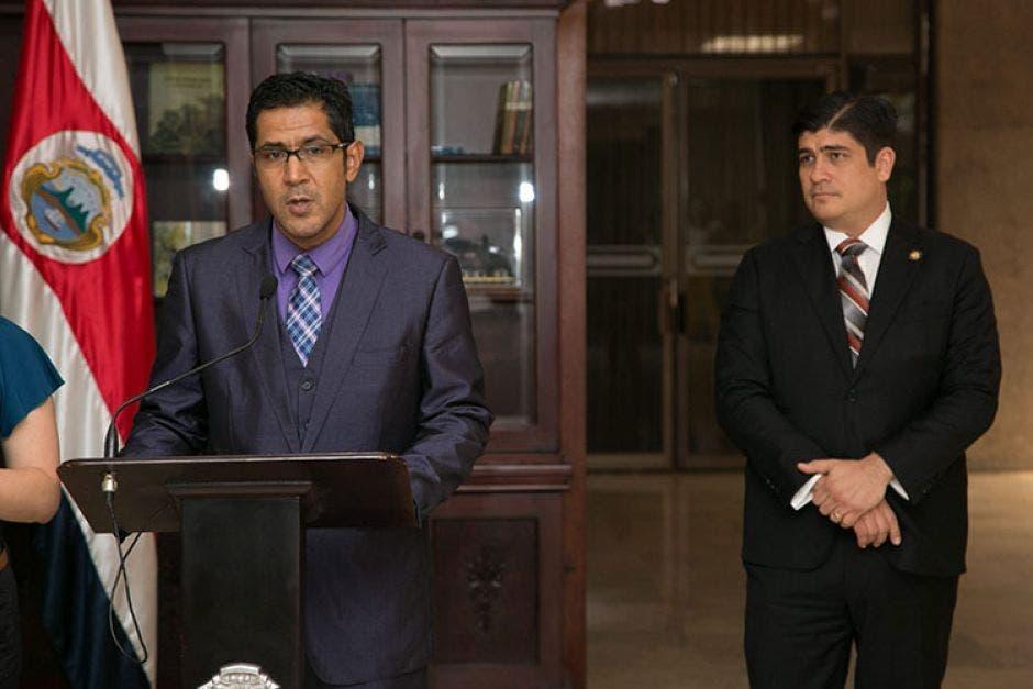 Nogui Acosta, viceministro de ingresos. Presidencia/La República