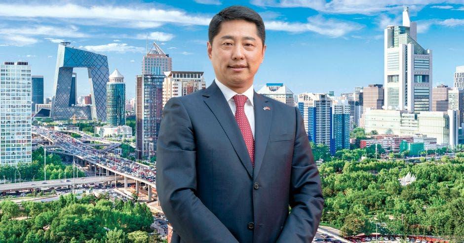 Tang Heng, embajador de la República Popular China, conversó con  LA REPÚBLICA de la relación con Latinoamérica y del compromiso de China con Costa Rica. Cortesía/La República