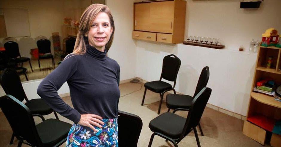 Natalia Apú, directora de la Maestría en Terapia Familiar Sistémica de ULICORI.