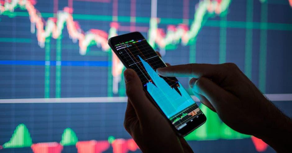 Gráficos de inversiones financieras