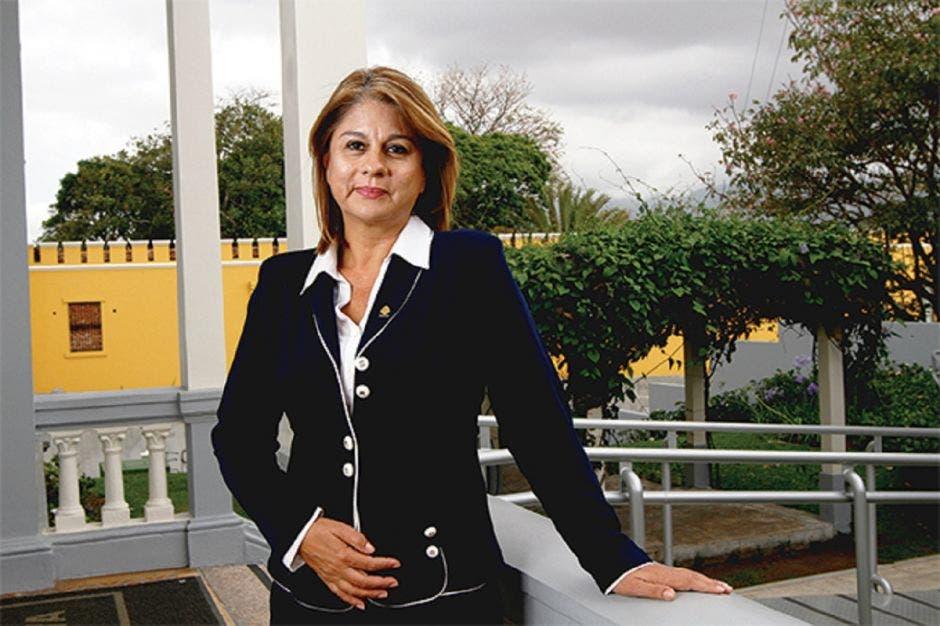 Rosibel Ramos, secretaria del PUSC. Archivo/La República