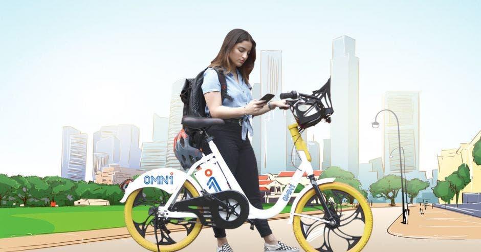 El sistema de alquiler de bicicletas eléctricas OMNibicis iniciará el próximo 15 de octubre