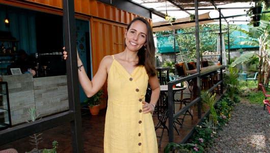 Natalia Ugalde es la propietaria del Con-Tenedor Bistró Café. Esteban Monge/La República