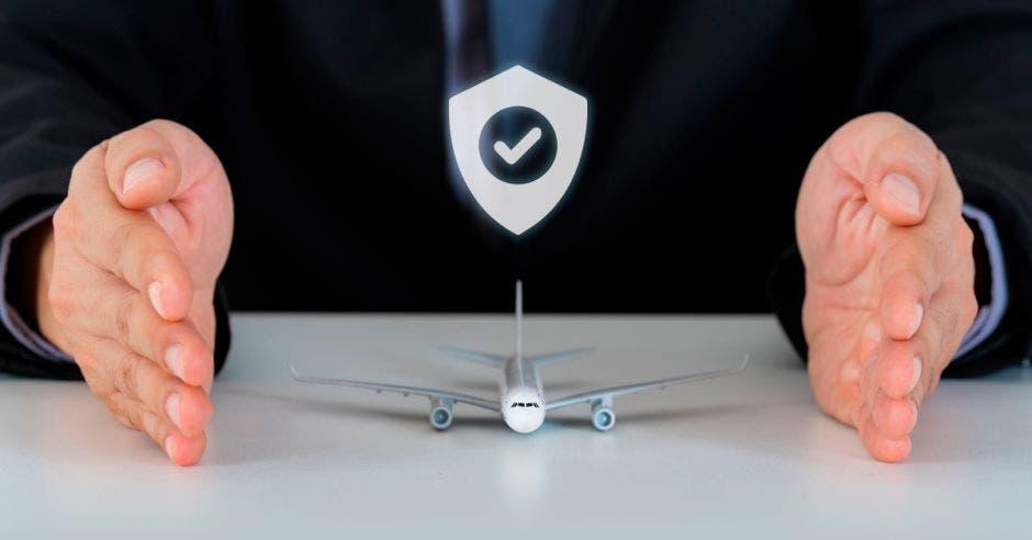 Un avión seguro