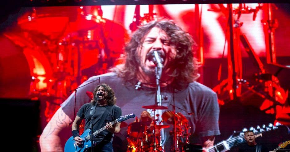 Dave Grohl en concierto en la Sabana, San José, Costa Rica