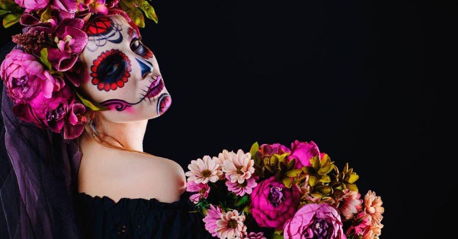 Una mujer de Catrina. Foto con fines ilustrativos. Shutterstock/La República