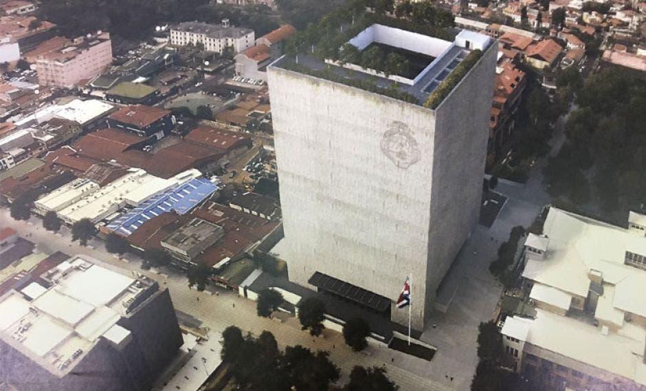 El nuevo edificio estará ubicado en los terrenos de los antiguos apartamentos Lamm, y tendrá un área de construcción de 50 mil metros cuadrados. Archivo/La República