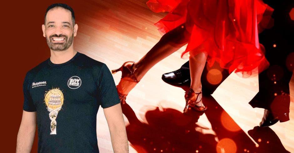 Billy Corado, bailarín internacional, es el coordinador de la cita. Cortesía  World Salsa Summit/La República