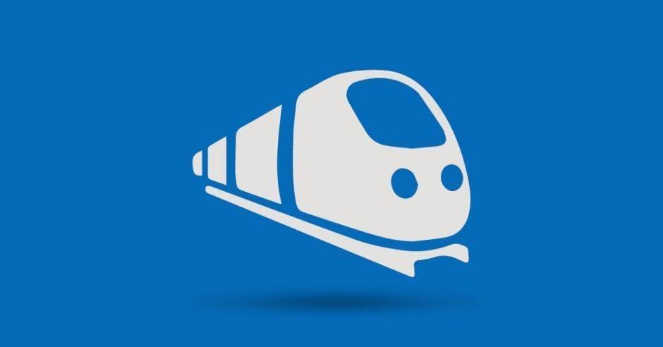 Ilustración de tren