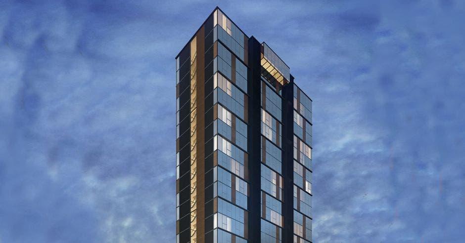 La construcción iniciará a mediados del otro año, y cada apartamento -con dos estancias – arrancará con un precio de $110 mil. Cortesía/La República