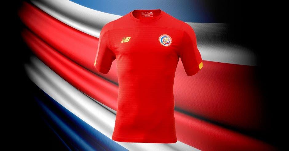 camisa roja costa rica