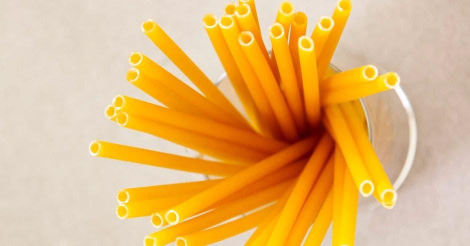Pajillas de pasta