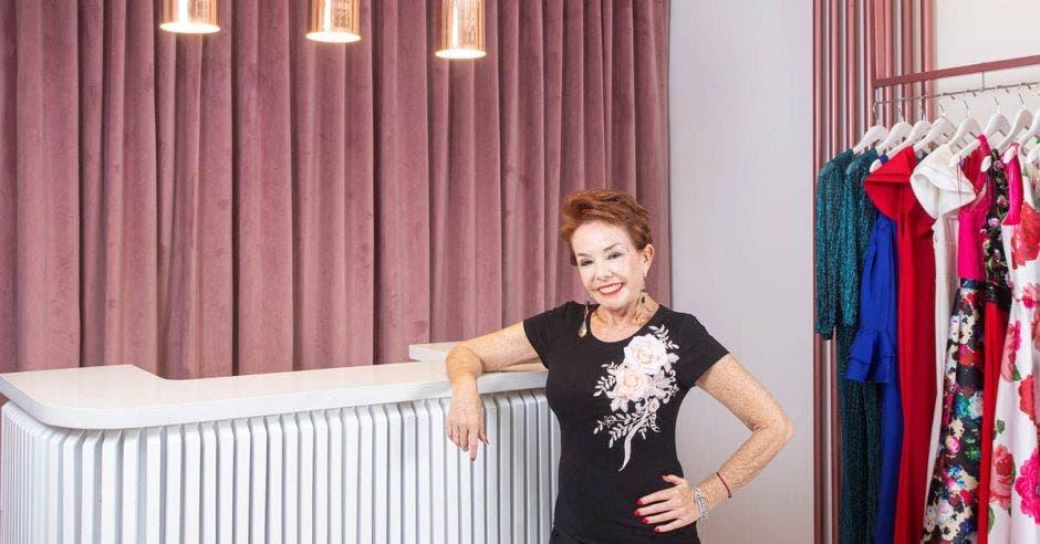 Amanda Moncada abrió su primera tienda en 1995. Cortesía Amanda/La República