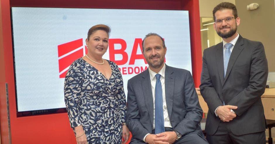 Laura Moreno, Federico Odio y Alejandro Rubinstein