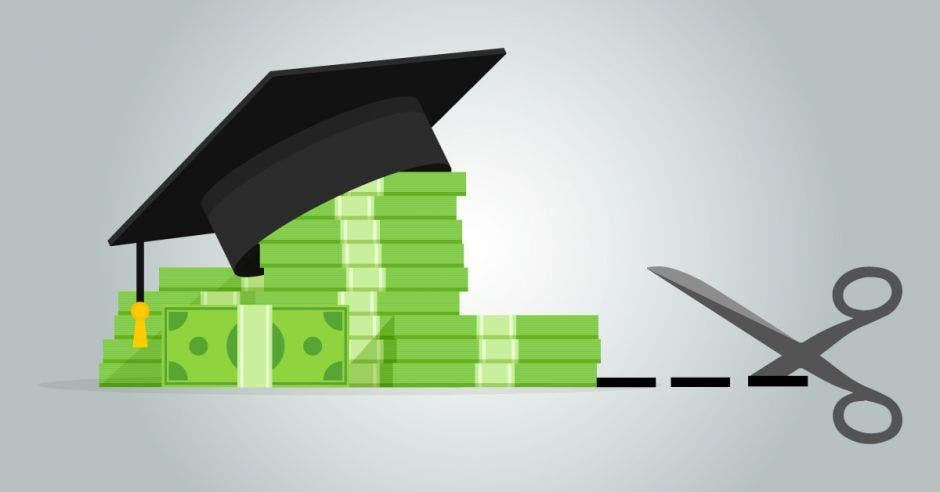 Los diputados impulsan un recorte de ¢35 mil millones en el gasto de las universidades. Archivo/La República