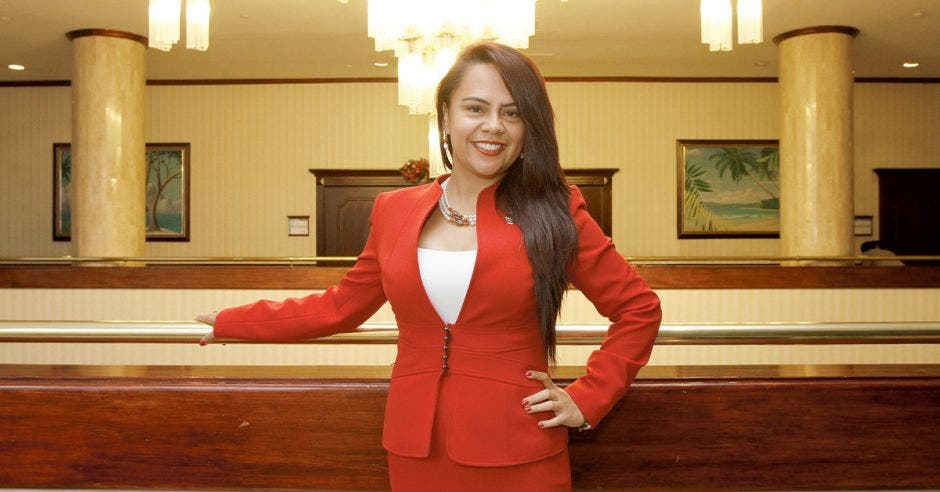 Geannina Dinarte, ministra de Trabajo.
