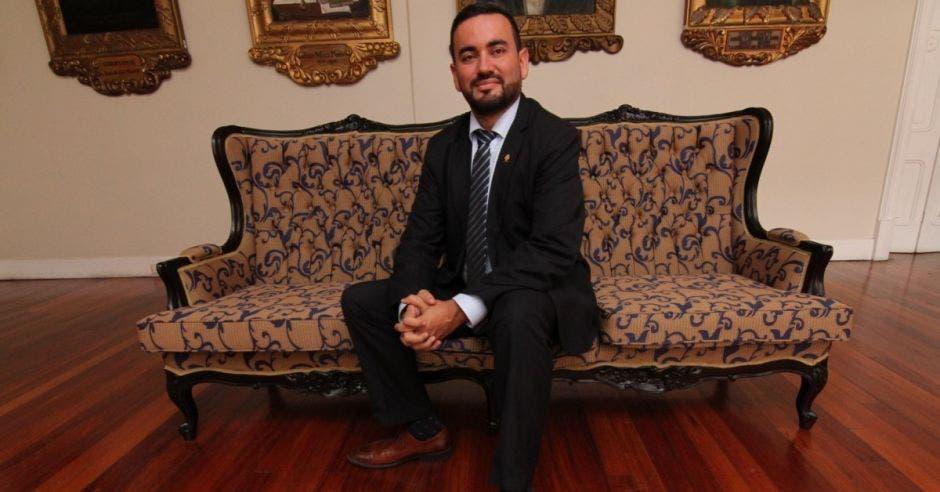 Jonathan Prendas, diputado de Nueva República. Archivo/La República.