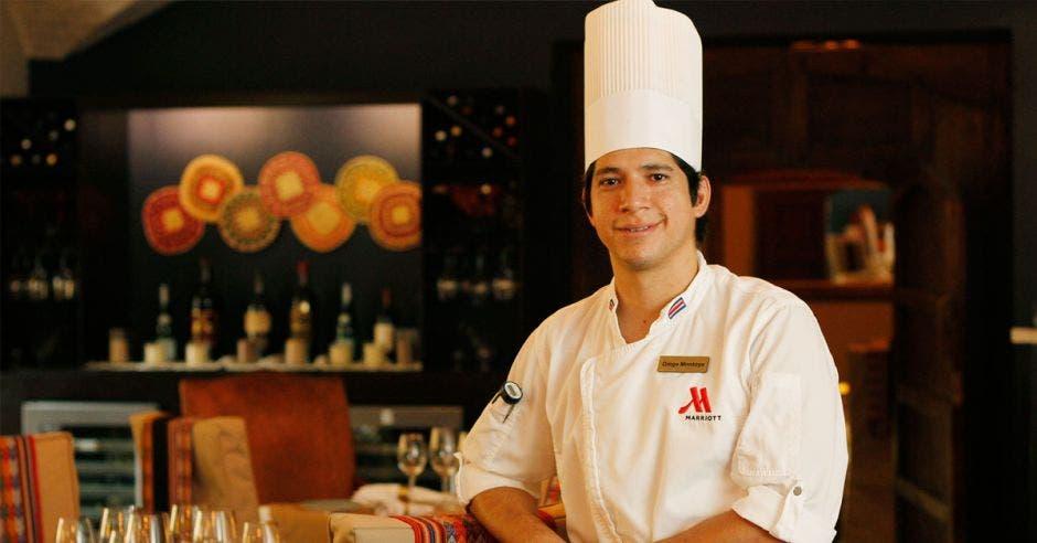 El chef Diego Montoya fue el encargado de crear el menú. Esteban Monge/La República
