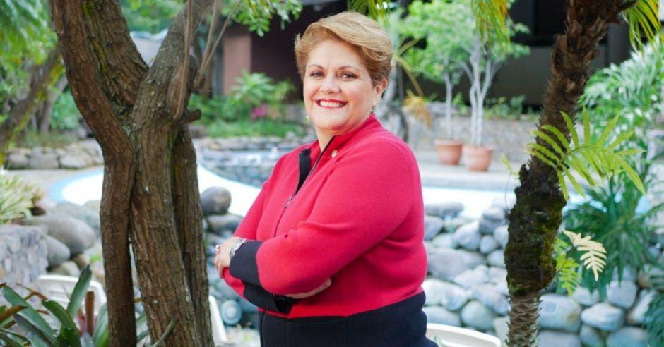 Yolanda Fernández, presidente de la Cámara de Comercio. Archivo/La República