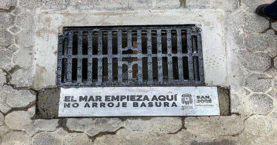 rejilla, San José, municipalidad, sistema pluvial, mares