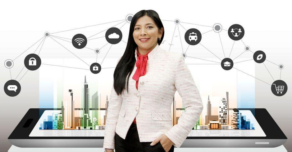 La prueba de concepto de la 5G dotará a la Terminal de Contenedores de Moín de postes inteligentes, en materia de seguridad y de wifi, para mayor eficiencia, contó Suzeth Rodríguez, directora de Operaciones de Racsa.