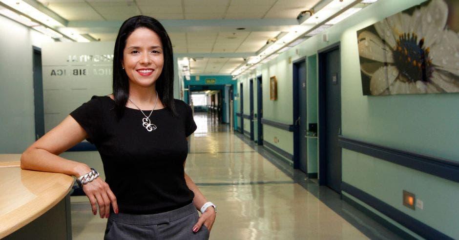 Iriana Chaves, Gerente de Talento Humano del Hospital Clínica Bíblica.