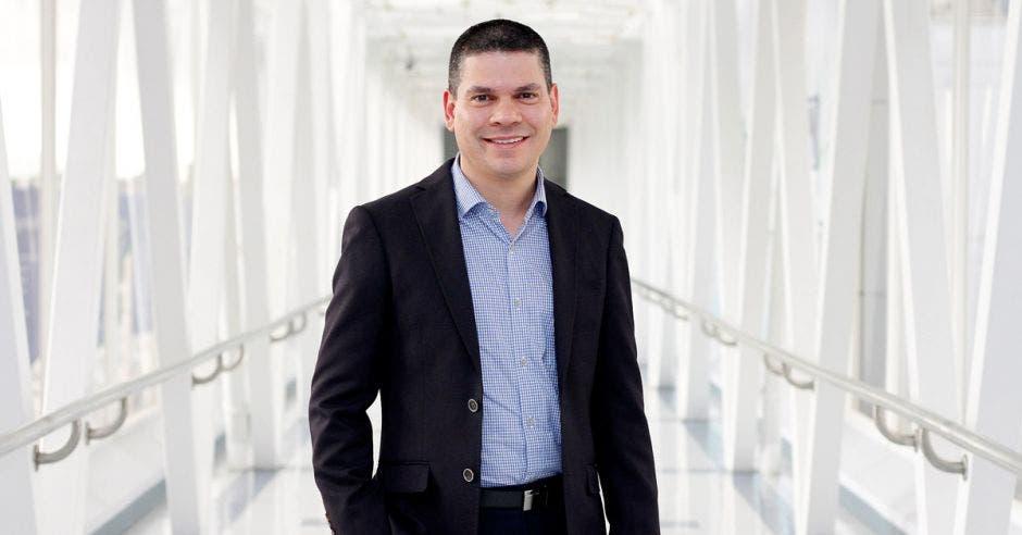 Andrés Alvarado, gerente de Calidad y Ambiente del Hospital Clínica Bíblica.