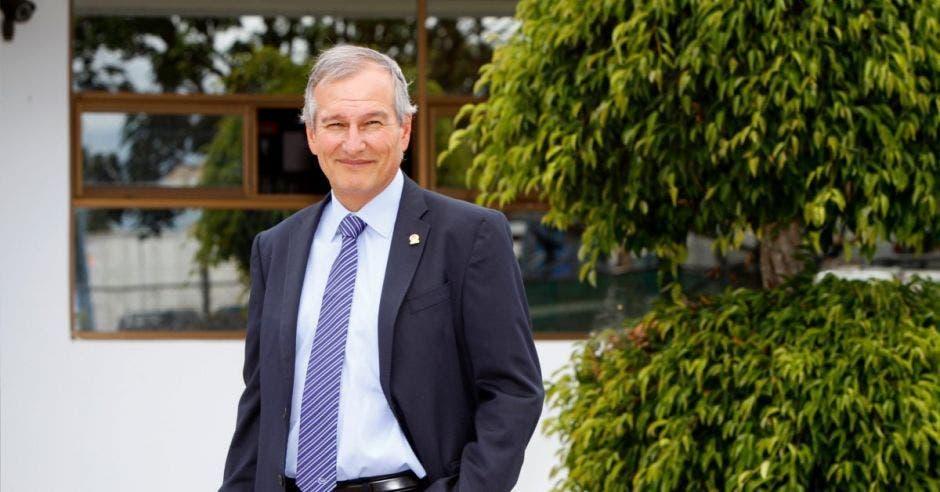 Gonzalo Delgado, presidente de la UCCAEP. Archivo/La República.