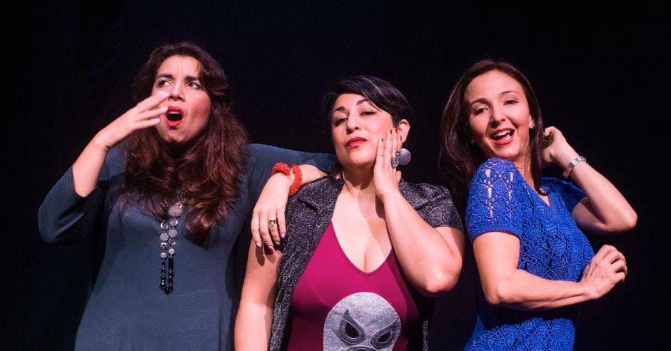 Cada día habrá un show de aproximadamente una hora y media con tres chicas realizando su monólogo más una presentadora. Cortesía Teatro Espressivo/La República