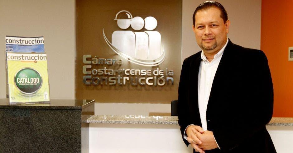Randall Murillo, director ejecutivo de la Cámara de la Construcción. Archivo/La República