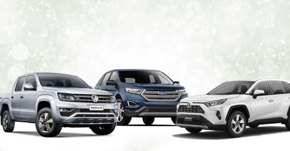 autos de ford toyota y volkwagen