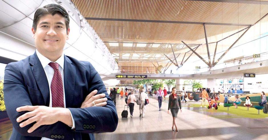 Luego de 18 meses de gestión, el presidente Carlos Alvarado le aseguró a LA REPÚBLICA que contratará un estudio para tener una base firme que le permita definir el futuro del proyecto. Cortesía- Shutterstock/La República.