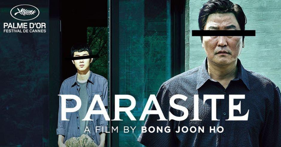 Imagen de la película de Parasite de Bong Joon Ho