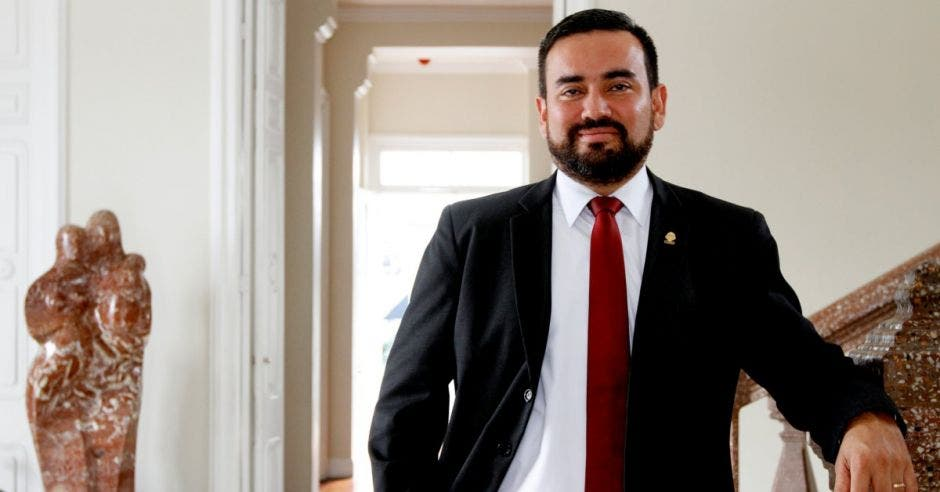 Jonathan Prendas, diputado Nueva República. Archivo/La República