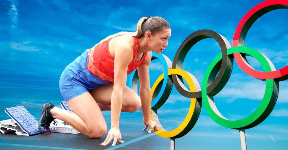 Costa Rica tiene garantizada la participación de tres atletas. Archivo/La República