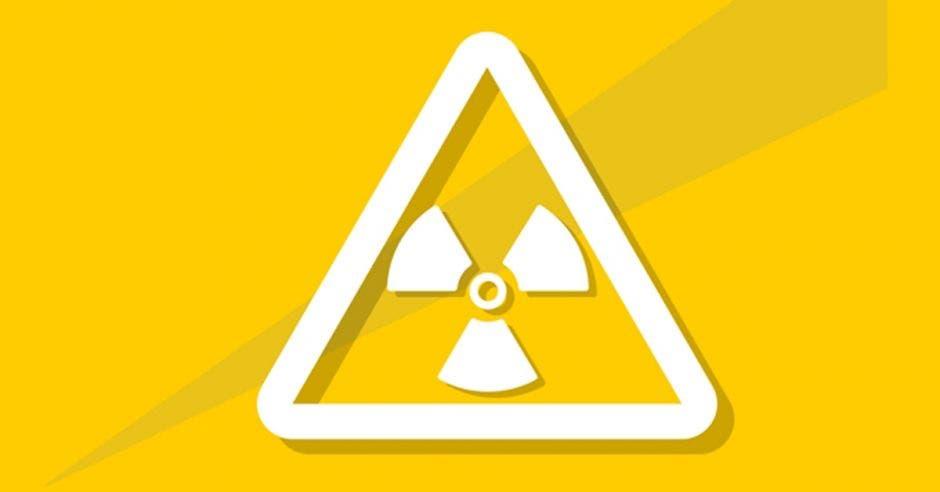 Una imagen de radiación