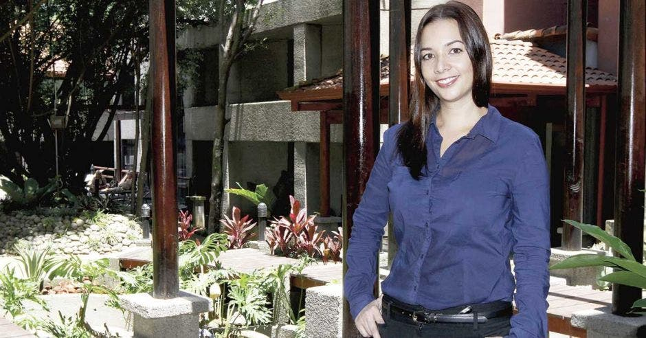 Economista Adriana Rodríguez.